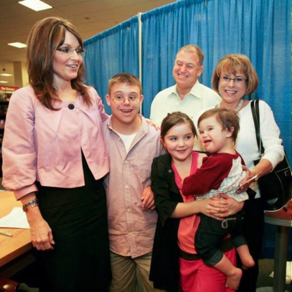 Sarah Palin, Going Rogue, Down syndrome