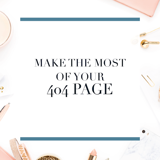 Make the Most of Your 404 Page - Michaela Hoffman