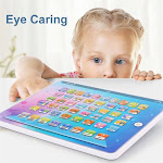 Siaonvr Children's Tablet Reading Machine Children's Gift for Education Multicolor