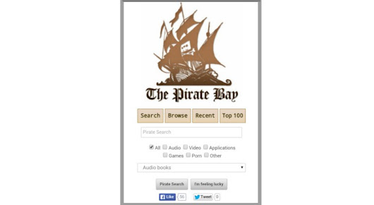 The Pirate Bay Goes Mobile