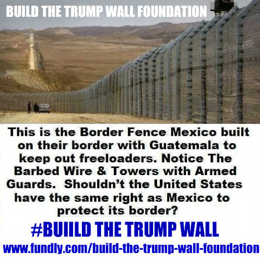 Click here to support Build The Trump Wall Foundation by Devyd Haier