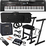 Roland RD-2000 Stage Piano Complete Stage Bundle