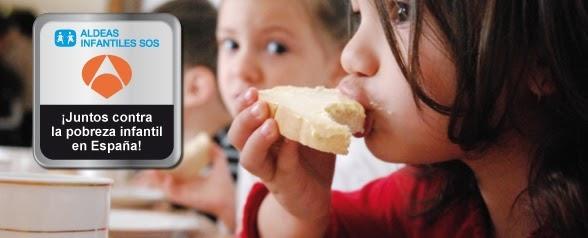 Antena 3 y Aldeas Infantiles SOS juntos contra la pobreza infantil en España