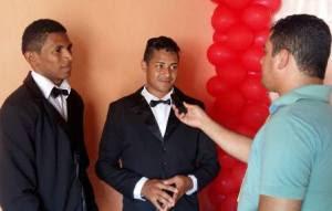 Casal gay natural de Mamanguape ficaram noivos a cerca de 1 ano e seis meses