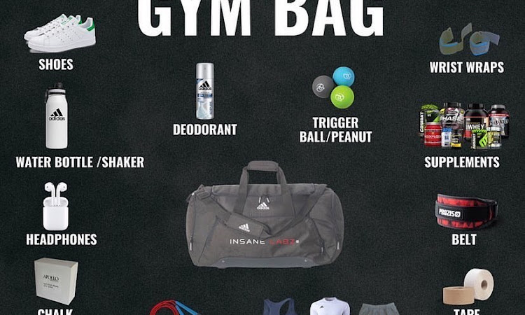 wolfiesfighters whats in your gym bag