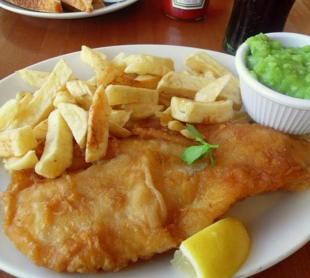 Tiny Kitchen Fish And Chips: The English Kitchen: Fish And Chips At The Seaside