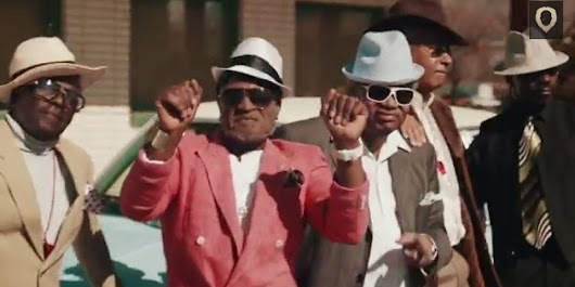 Dancing Senior Citizens Covered 'Uptown Funk' And It Is Spectacular
