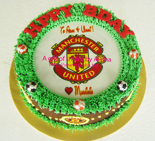 Birthday Cake  with Edible Image MU