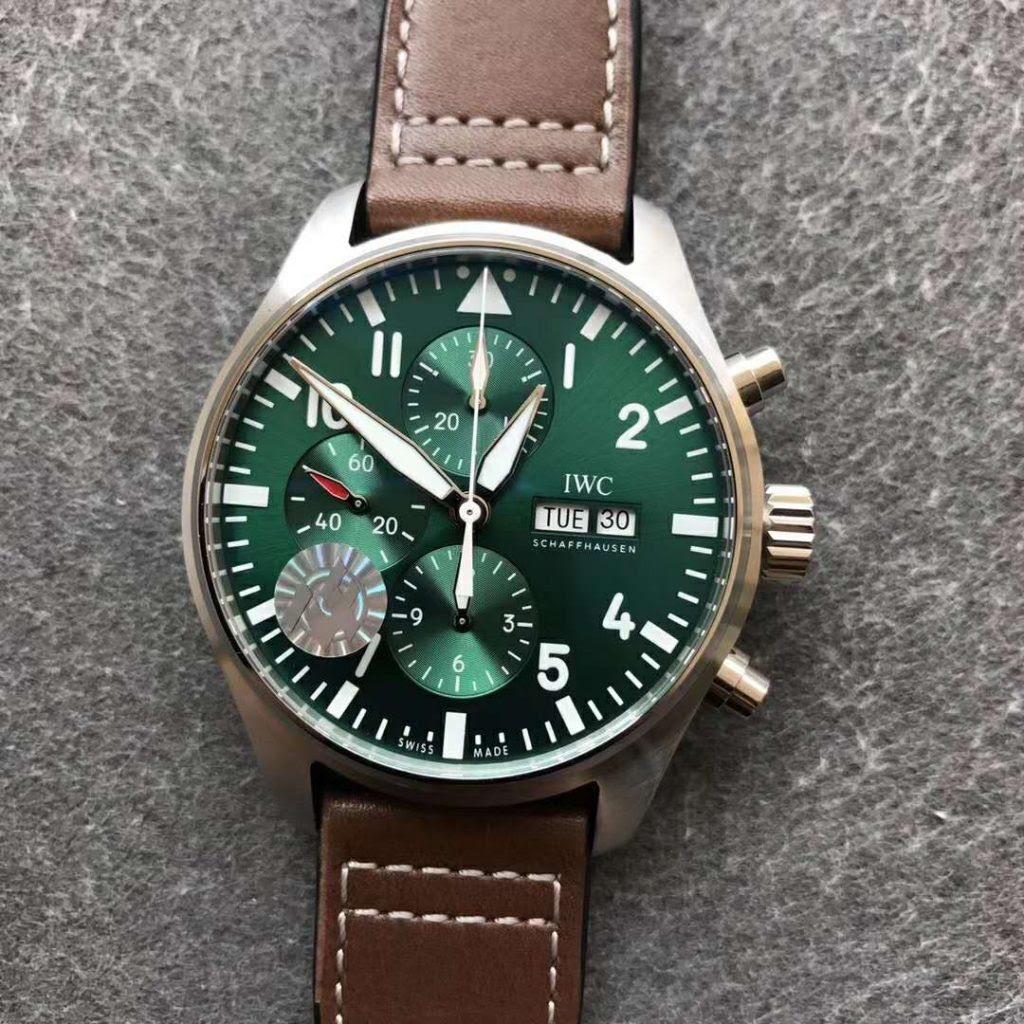 IWC Pilot Green Dial