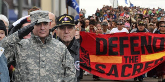 "Hundreds Of Veterans ""Self-Deploy"" To Standing Rock To Defend Protesters"