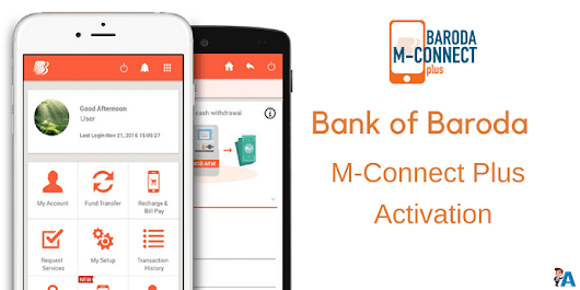 Bank of Baroda M-Connect Plus Registration (Activate) Kaise kare - AskmeHindi