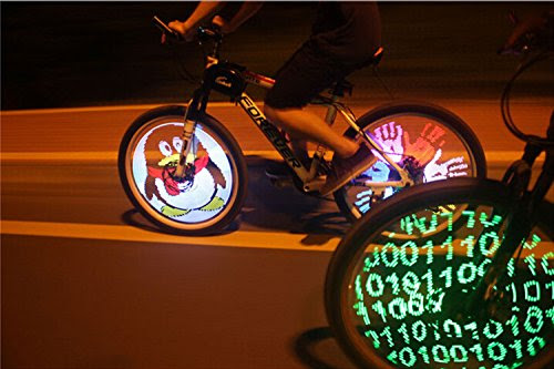 Display Eye-Catching Images on Your Bike's Wheels - Not Any Gadgets