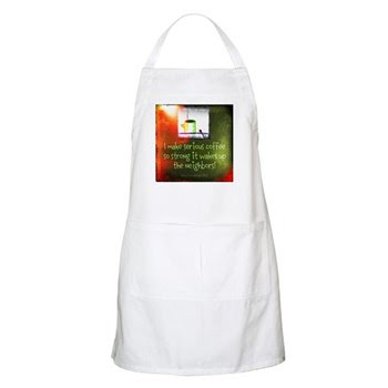 Funny Serious Coffee Quote Apron