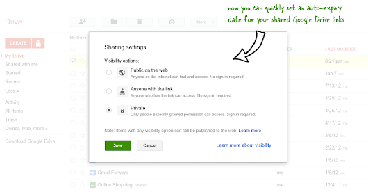 Set an Auto-Expiry Date for Shared Files and Folders in Google Drive