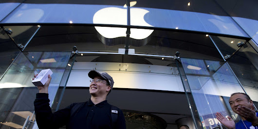 Apple Is Opening Stores In China At Breakneck Speed