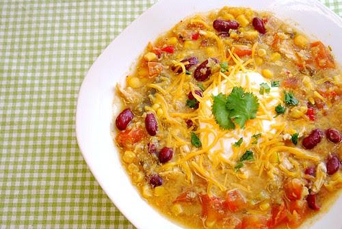 Instant Pot: Chicken Enchilada Soup