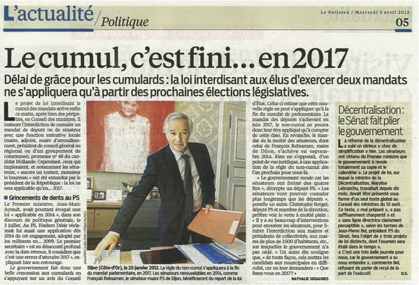 """Résultat de recherche d'images pour """"moralisation cumul des mandats"""""""