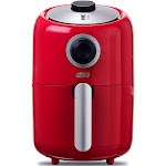 Dash 900W 2qt Single Basket Compact Air Fryer Red