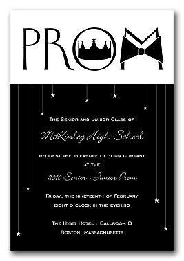 Mod Prom   Graduation Announcements by Invitation