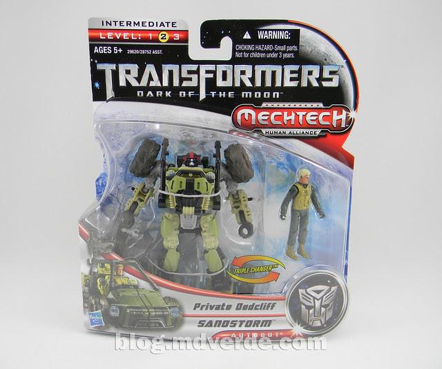Transformers Sandstorm DotM Human Alliance - caja