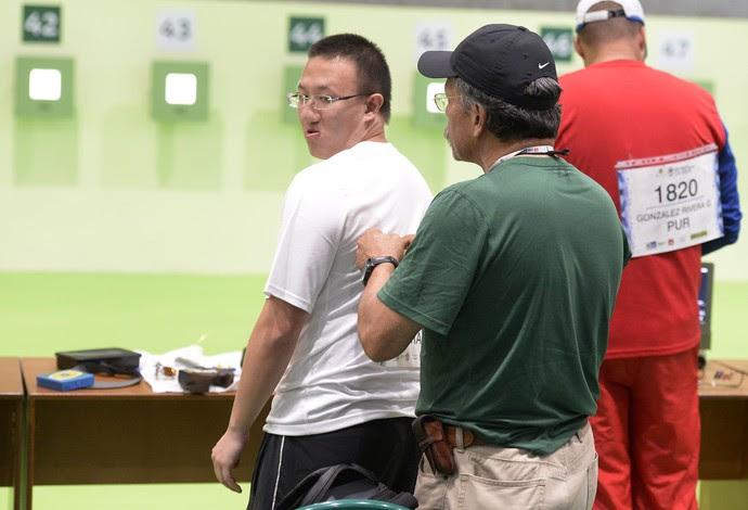 tiro esportivo felipe wu (Foto: André Durão)