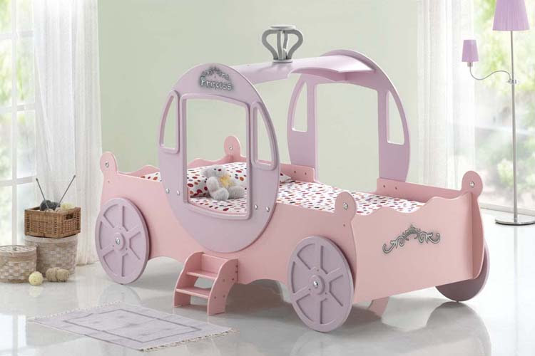 Princess Carriage Bed | Mr Mattress