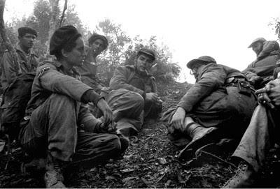 El Che, en Sierra Maestra