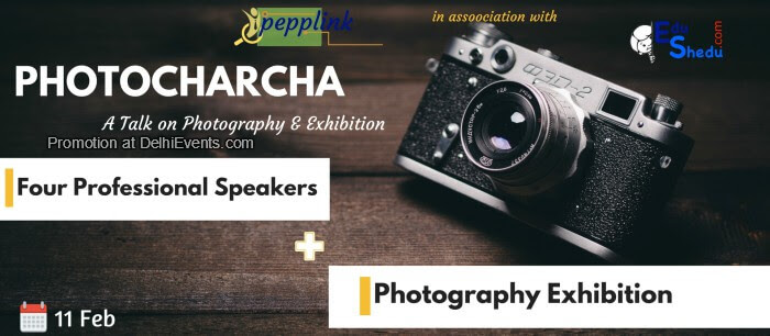 PhotoCharcha talk exhibition Photography Creative