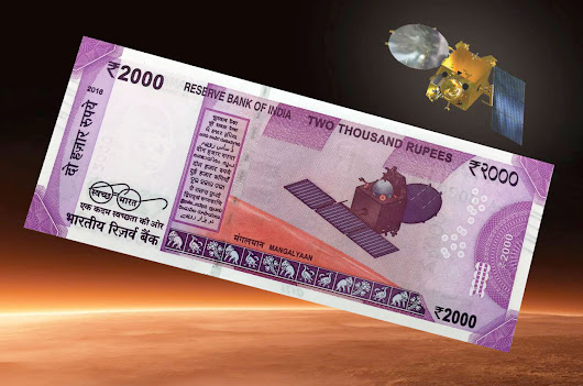 Mangalyaan money: India celebrates Mars Orbiter Mission on new banknote | collectSPACE