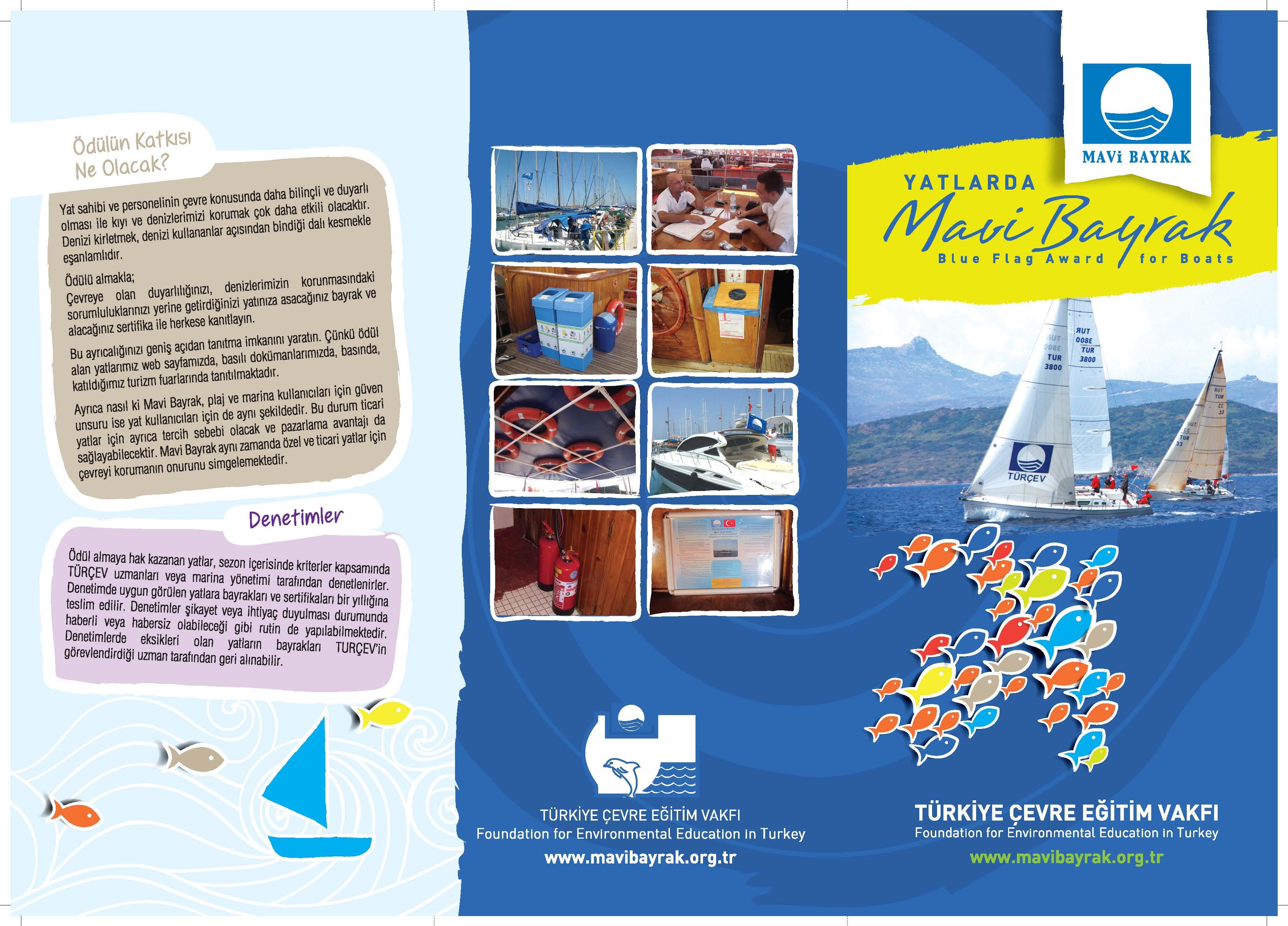 Mavi Bayrak Türkiye Türçev Türkiye çevre Eğitim Vakfı