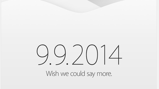 Join us next Tuesday, September 9th for Apple's iPhone 6 and iWatch event