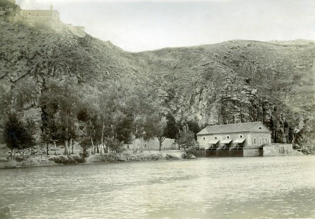 Ermita del Valle y Molinos de Saelices en junio de 1905. Fotógrafo anónimo. Colección Luis Alba. Ayuntamiento de Toledo