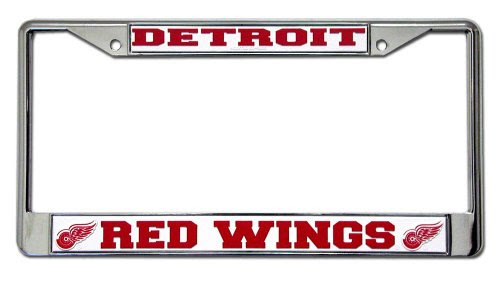 NHL Detroit Red Wings Chrome Frame
