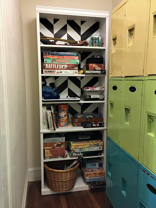 How to Dress Up a Yard Sale Bookcase - Dogs Don't Eat Pizza