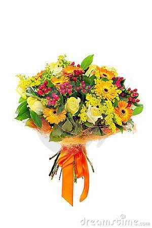A Bunch Of Flowers Royalty Free Stock Images   Image: 17259869