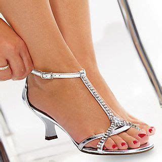 silver low heeled   pretty bridal shoes    Wedding shoes