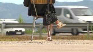 Una prostituta en una carretera de l'Alt Empordà