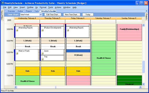 Time Management Software - Get Things Done with Achieve Planner ...