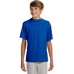 A4 NB3142 Youth Cooling Performance Crew T-Shirt - Royal
