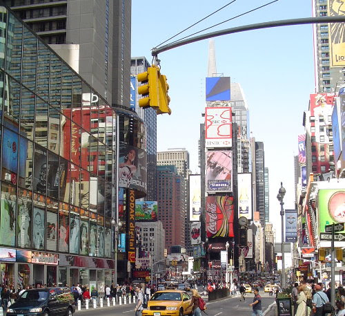 Times Square, New York - Shopping