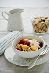 Tropical Fruit and Nut Spelt Granola by Meeta K. Wolff