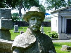 Horne statue