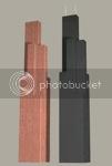 Sears Tower in US pennies