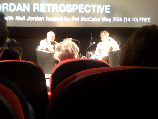Neil Jordan and Patrick McCabe at the Irish Film Institute