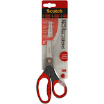 Scotch Precision - Scissors - paper, fabric, cardboard - 8 in