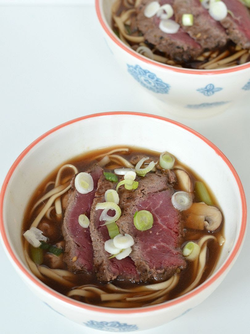 Japanese Beef Udon Soup