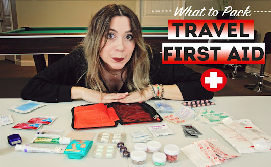 What To Pack: Travel First Aid Kit