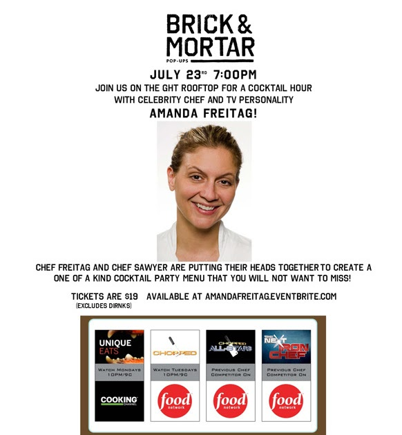 Eat*Drink*Cleveland: Rooftop Party With Amanda Freitag At
