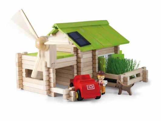 Solar Power Playtime: Wooden Farm Set Review | Simply Real Moms