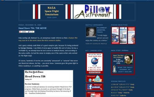 Pillow Astronaut